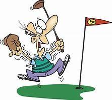 Ecstatic Golfer